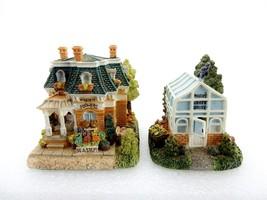 Liberty Falls Village, 1999 Rosie's Flower Shop & Rosie's Greenhouse Set - $14.65