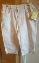 Denim & co white jeans size 22 - $7.92