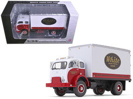 1953 White Super Power 3000 COE Delivery Van 1/34 Diecast Model Car by First Gea - $81.19