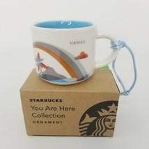 Starbucks You Are Here Mug Ornament Hawaii Mini Mug Collection - $13.65