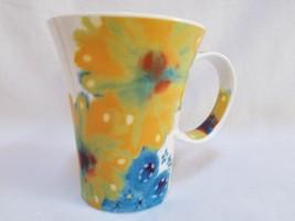 Starbucks Coffee Tea Mug Spring Flowers 2006 Tall 12 oz Hippie Tie Dye F... - $29.99
