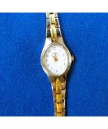 Pulsar Ladies Quartz Wristwatch with link band size 5 1/2 inches petite ... - $9.99