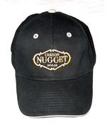 Carson City Nugget Casino Nevada Adult Mens OSFM Black Gold Adjustable H... - $14.09
