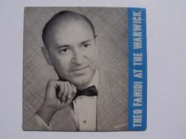 Theo Fanidi - Theo Fanidi At The Warwick Vinyl LP Record Album New Sealed - $23.01