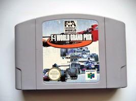 F-1 World Grand Prix (Nintendo 64, 1998) - NUS-NFWP-EUR - $2.99
