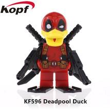 Super Heroes Deadpool howard The Duck Bricks collectible Marvel Building... - $3.95