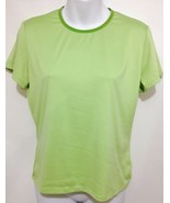 Patagonia Womens M Capilene Apple Green Short-Sleeve Pullover T-Shirt US... - $27.93