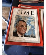 Magazine Time  Trippe Pan Am Mallory Fitzgerald Hobart  March 28 1949 - $31.67