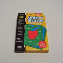 United States Fact Pack 50 Flash Cards Home School Geography Capitals Sealed - $4.99