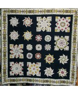 Floral Stack & Whack Quilt - $65.00