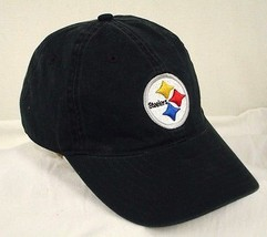 Pittsburgh Steelers Black Reebok Baseball Cap Hat Team Apparel On Field ... - €17,82 EUR