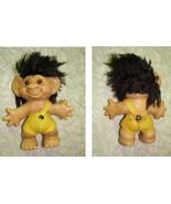 Troll Doll Vintage Toy Figure Thomas Dam Black Hair - $26.99