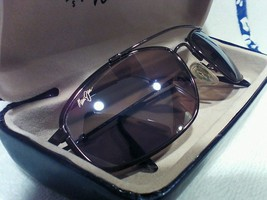 "Maui jim""BIG ISLAND""303-23 GLOSS COPPER/BRONZE,EXCELLENT PAIR W CASE,ULT... - $350.00"
