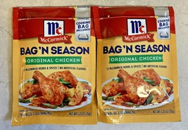 McCormick Bag 'N Season Original Chicken Herbs and Spices 1.25 Oz Lot of 2 - $19.95