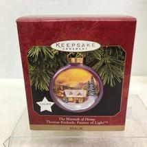 1997 Warmth of the Home Kinkade Hallmark Christmas Tree Ornament MIB Pri... - $14.36