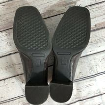 Nine West Brown Block Heel Loafer - Size 7 image 5