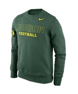 "Nike Oregon Ducks Practice Crew Sweatshirt Green ""X-Large"" - £14.19 GBP"