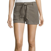 a.n.a Tape Belted Twill Shorts Size 4, 8, 10, 12, 14 Msrp $36.00 Green S... - $14.99