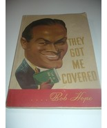 Bob Hope 1st Edition Book They Got Me Covered 1941 Bing Crosby Introduction - $19.99
