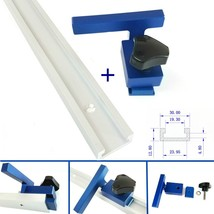 NEW 300 800mm Aluminium T Slot T Track w/ Miter Track Stop  Router Table... - $29.30