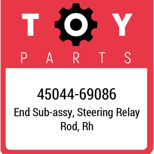 45044-69086 Toyota Tie Rod End, New Genuine OEM Part