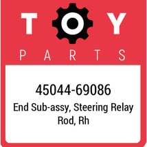 45044-69086 Toyota Tie Rod End, New Genuine OEM Part - $73.02