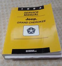 1994 Jeep Grand Cherokee 4.0L 5.2L Laredo Sport 2&4wd Service Repair Man... - $79.99