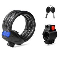 Bicycle Lock MTB Bike Security Universal Anti-Theft Moto Stainless Steel... - $9.49