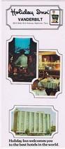 Tennessee Postcard Nashville Vanderbilt Holiday Inn Long Card - $2.25