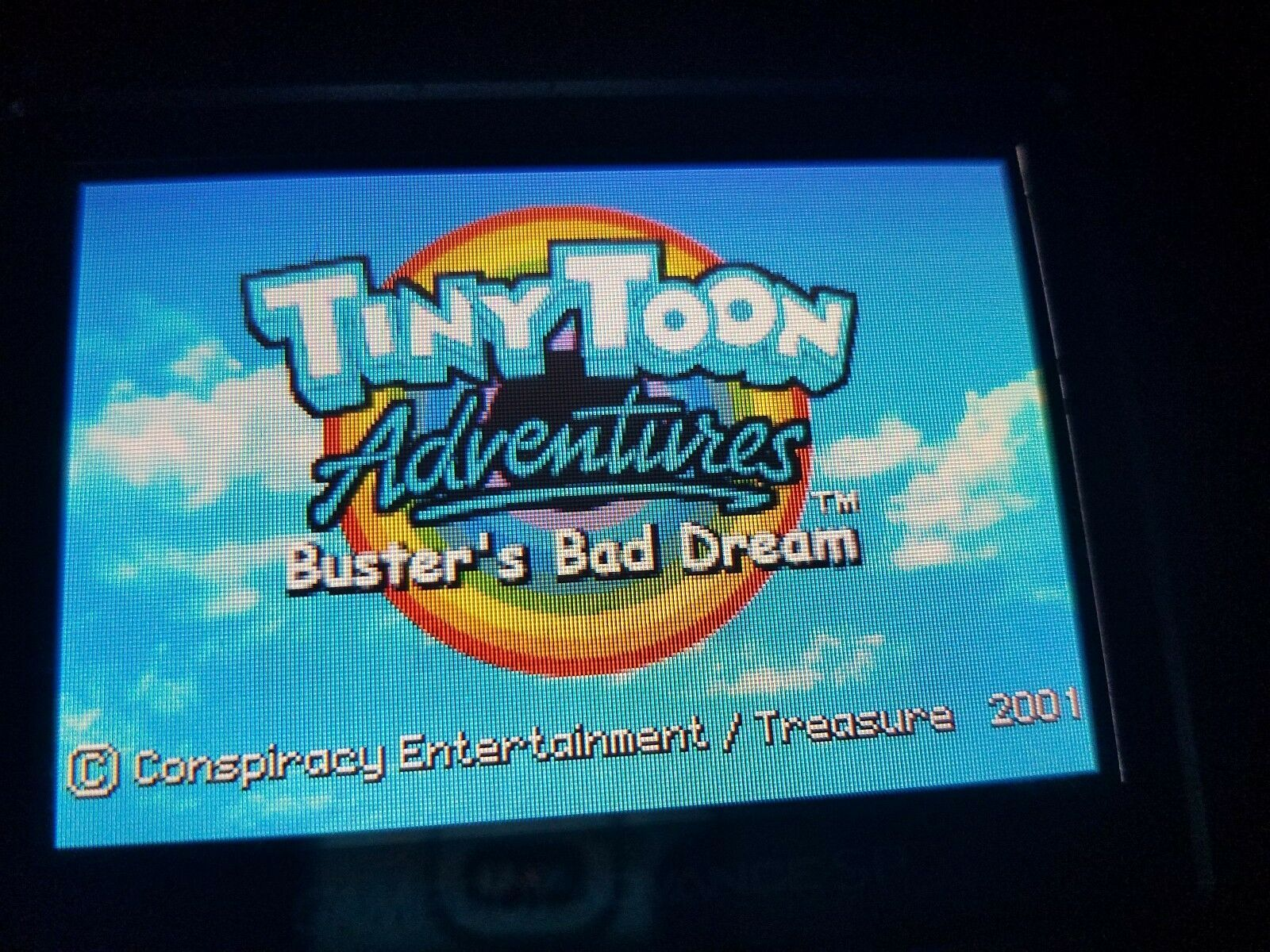 Tiny Toon Adventures Buster's  Scary bad Dream Nintendo Game Boy Advance 2005