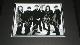 Queensryche Signed Framed 16x20 Frequency Unknown CD & Photo Display  - $186.99