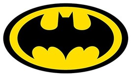 "Batman Logo 4"" to 18"" Full Color Vinyl Decal Sticker 20"" X 11.3"" - $36.50"