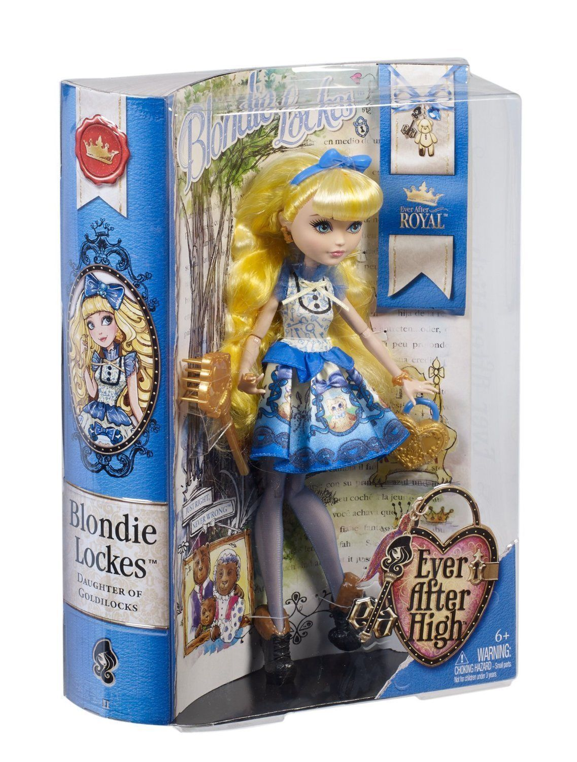 Image 3 of Ever After High Blondie Lockes Fashion Doll, 6+, Mattel