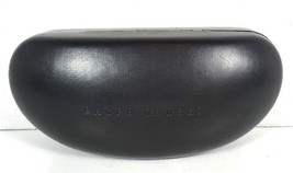 Ralph Lauren OverSize Hard Sunglass/Eyeglass Case Black - $23.27