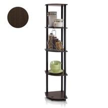 Shelves Corner Display Shelving Unit Rack 5 Tier Shelf Stand Storage Org... - $41.97