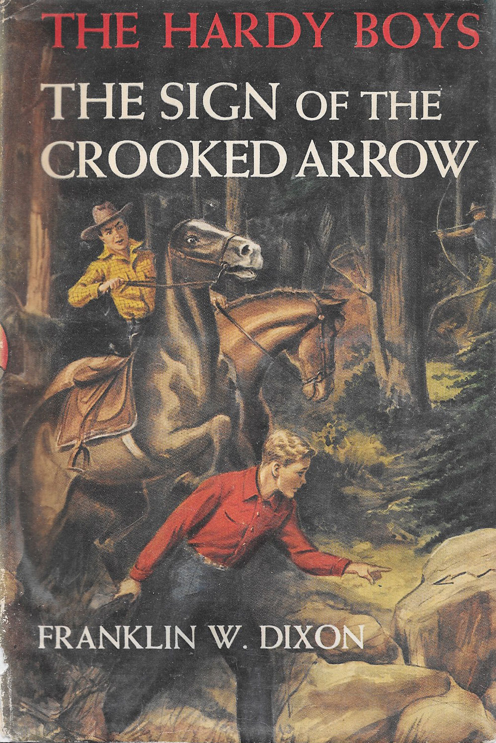 Primary image for THE HARDY BOYS: THE SIGN OF THE CROOKED ARROW (1949) XCNLT! Hardcover w/ JACKET!
