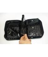 Black Vinyl Zippered Waterproof Cosmetic or Toiletry Bag Item#130315 / 72CT - $67.86