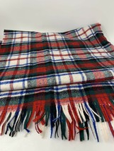 "Pendleton Dress Mac Duff Tartan Scarf  100% Virgin Wool 56"" Long Made in... - $28.50"