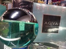 AQVA MARINE Pour Homme Bvlgari 3.4 oz EDT Men Spray Cologne AQUA 3.3 100... - $76.99