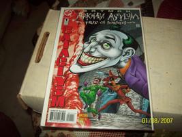 Batman: Arkham Asylum - Tales of Madness #1 (May 1998, DC) - $3.00