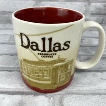 Starbucks Dallas Icon City Collector Series 16 oz Coffee Cup Mug 2012 - $24.05