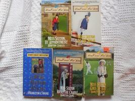 "Lot of 5 ""Miss Seton...series"" British Cozies by Hamilton Crane&Hampton ... - $9.85"
