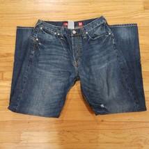 Ed Hardy by Christian Audigier Jeans Button Pockets Size 32x32 - $79.99