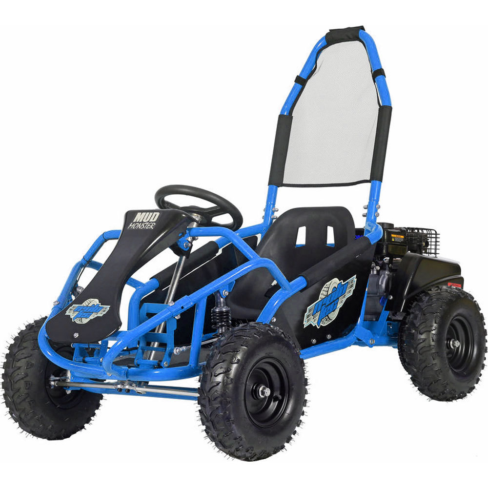 MotoTec Mud Monster 98cc 4-Stroke Kids Off the Road Go Kart Age 13+ Up to 25 MPH