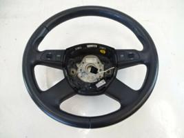 07 Audi D3 A8 steering wheel 4f0419091ah black - $56.09