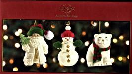 Christmas Tree Ornaments set 0f 3 by Lenox  - $15.00