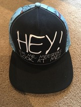 Official Rick & Morty Hey I'm Mr Meeseeks Look At Me Snapback Adjustable... - $19.79
