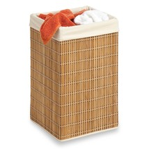 Honey-Can-Do HMP-01620 Square Hamper, Clothing Organizer, Bamboo - $21.54