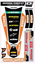 TRIM KIT ORANGE WPS UNIVERSAL FOR FULL SIZE MOTORCYCLES D'cor Visuals - $54.95