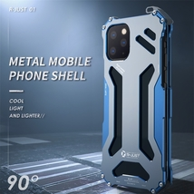 R-JUST Shockproof Armor Metal Case for iPhone 11 Pro Max image 3